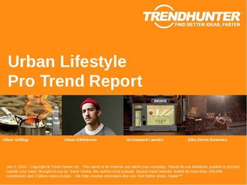Urban Lifestyle Trend Report and Urban Lifestyle Market Research