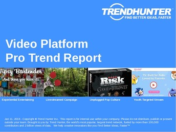 Video Platform Trend Report and Video Platform Market Research