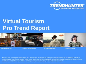 Virtual Tourism Trend Report and Virtual Tourism Market Research