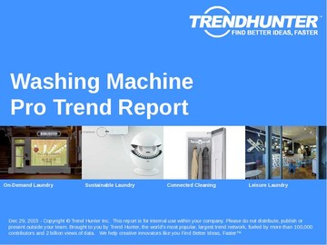 Washing Machine Trend Report and Washing Machine Market Research