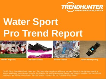 Water Sport Trend Report and Water Sport Market Research