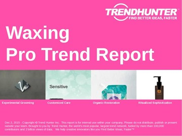 Waxing Trend Report and Waxing Market Research