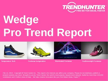 Wedge Trend Report and Wedge Market Research