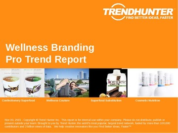 Wellness Branding Trend Report and Wellness Branding Market Research