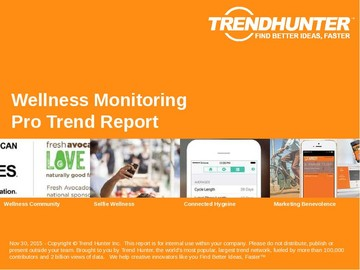 Wellness Monitoring Trend Report and Wellness Monitoring Market Research
