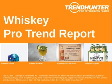 Whiskey Trend Report and Whiskey Market Research