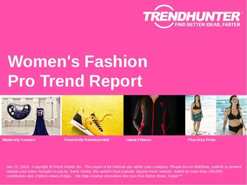Women's Fashion Trend Report and Women's Fashion Market Research