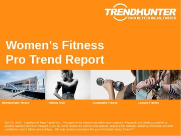 Women's Fitness Trend Report and Women's Fitness Market Research