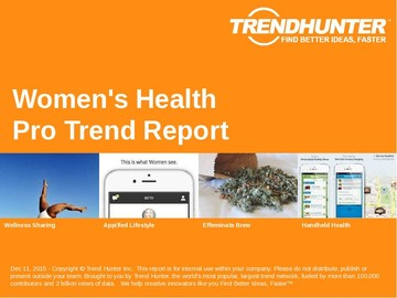 Women's Health Trend Report and Women's Health Market Research