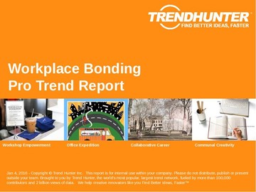 Workplace Bonding Trend Report and Workplace Bonding Market Research