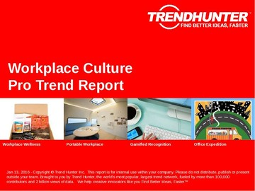 Workplace Culture Trend Report and Workplace Culture Market Research