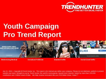 Youth Campaign Trend Report and Youth Campaign Market Research