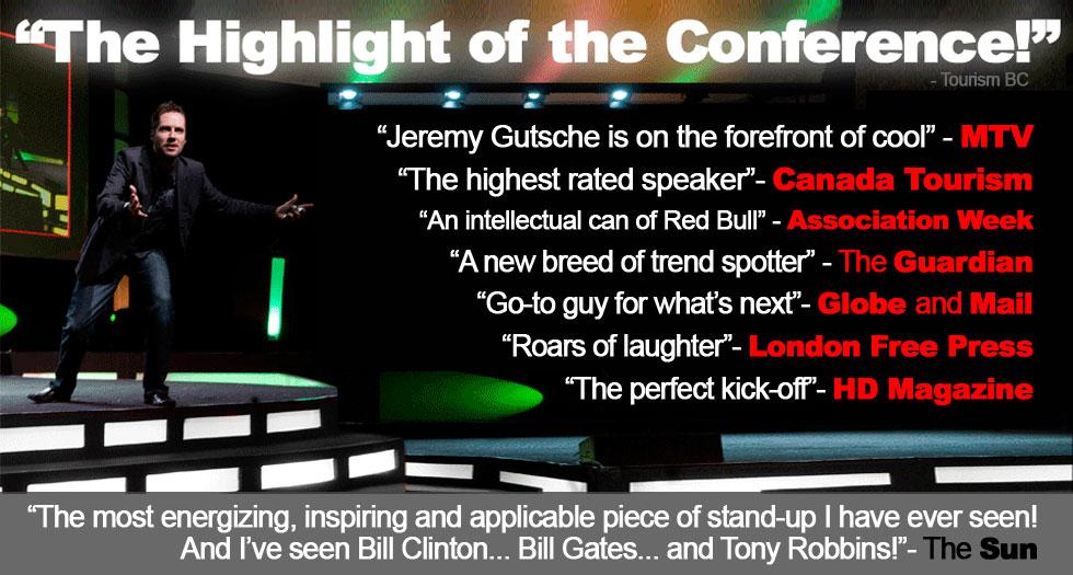 Jeremy Gutsche Innovation Keynotes