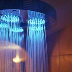 Ondine Illuminated Shower: Reenact Your Alien Abduction