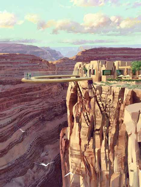 Grand Canyon Skywalk: All Glass, 4,000 Feet Above the Canyon