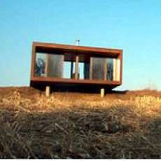 weeHouse: $45k Pre Fab Home Thats Cooler than Your Cabin