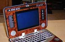 Retro Atari 800 XE Laptop