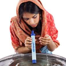 LifeStraw: Innovative Drinking Straw Filters Waterborne Illness
