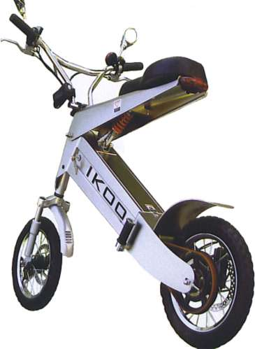 Portable Motorbikes - The iKOO's Small Design is Perfect for Travel