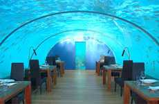 Hilton Maldives Resort: Worlds First Undersea Restaurant