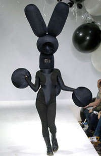 Gareth Pugh: Today in Today in Haute Couture