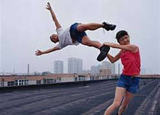 Performance Art: The Impossible Photos of Li Wei