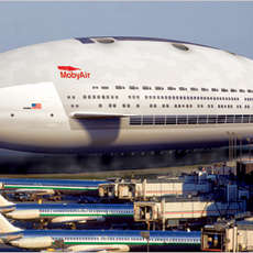 Luxury Blimp Offers Mile-High 5-Star Accommodations