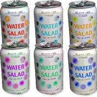 Drinkable Lettuce - Salad Water Makes Staying Healthy Taste Green