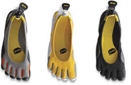Vibram's Fivefingers Shoes Keep Climbers on Their Toes