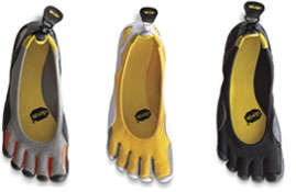 Barefoot Simulators - Vibram's Fivefingers Shoes Keep Climbers on Their Toes