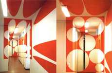 3D Painted Rooms by Felice Varini