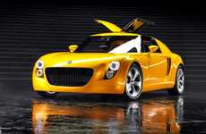 VW EcoRacer Hybrid Concept Car