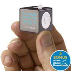 MobiBlu Miniature MP3 Player Review - World's smallest!