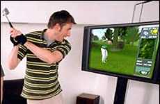 Virtual Golf at Home