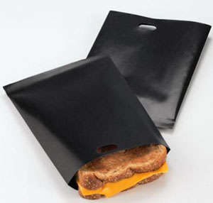 Toaster Bags - Grilled Cheese Sandwiches Made Easy