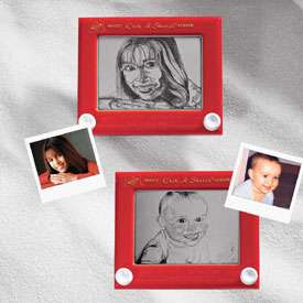 Custom Etch-A-Sketch Caricature for $5,000