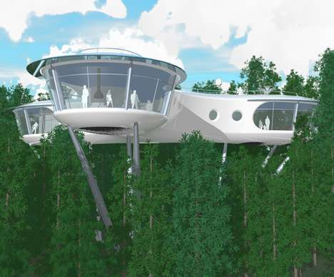 Hip Eco Friendly Houses - How About a Treehouses?