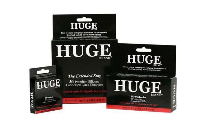 HUGE Brand Condoms: The Male Answer to the Push-Up Bra