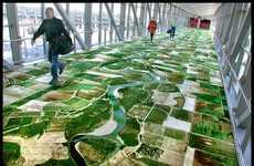 Digital Printed Floors and Wallpaper