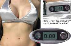 Smart Bikini with Built in UV Meter