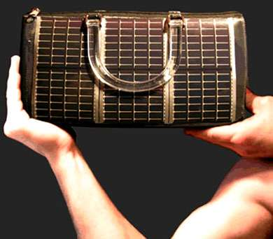 Solar Powered Purse