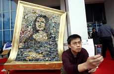 Mona Lisa Made From Obsolete Motherboards