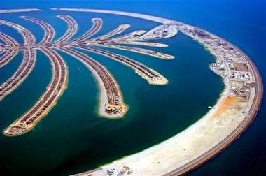 Man Made Islands - Dubai's Palm Jumeirah Nears Completion