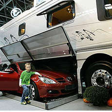 The Volkner RV Garage Lets You Stow Your Car