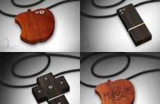 Grasso Wood & Diamond Flash Drive