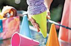 Plastic Ice Cream Cones