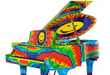 Freakishly Funky Pianos