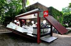 Shipping Container Houses (Follow Up) - The Illy House Blooms in 90 Seconds