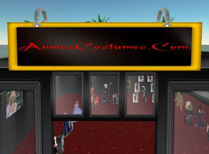 SecondLife Halloween Costumes