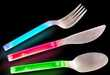 Glow-in-the-Dark Cutlery